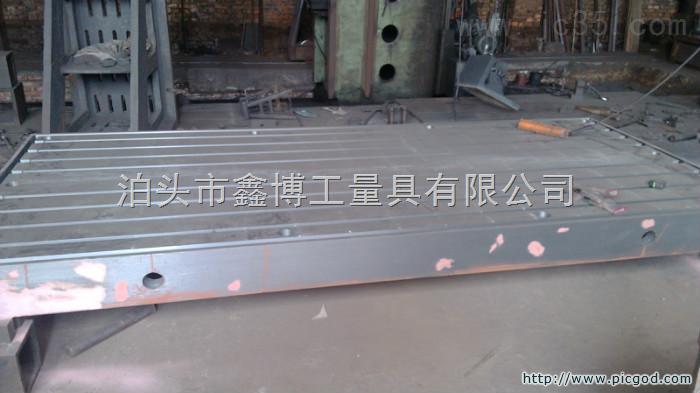 鑫博3000X6000铸铁焊接平台