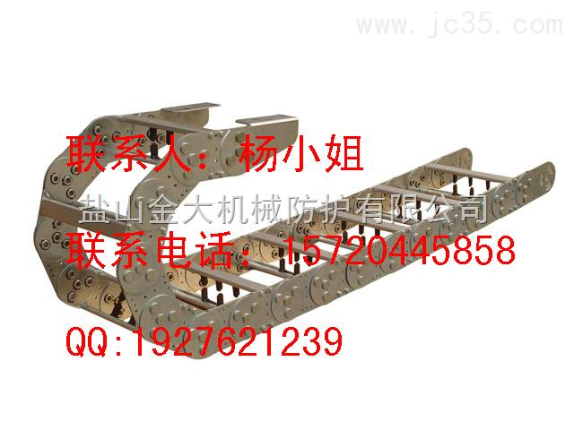 钢制拖链,工程钢制拖链