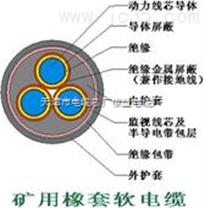 MYPTJ监视型金属电缆 MYPTJ矿用屏蔽电缆
