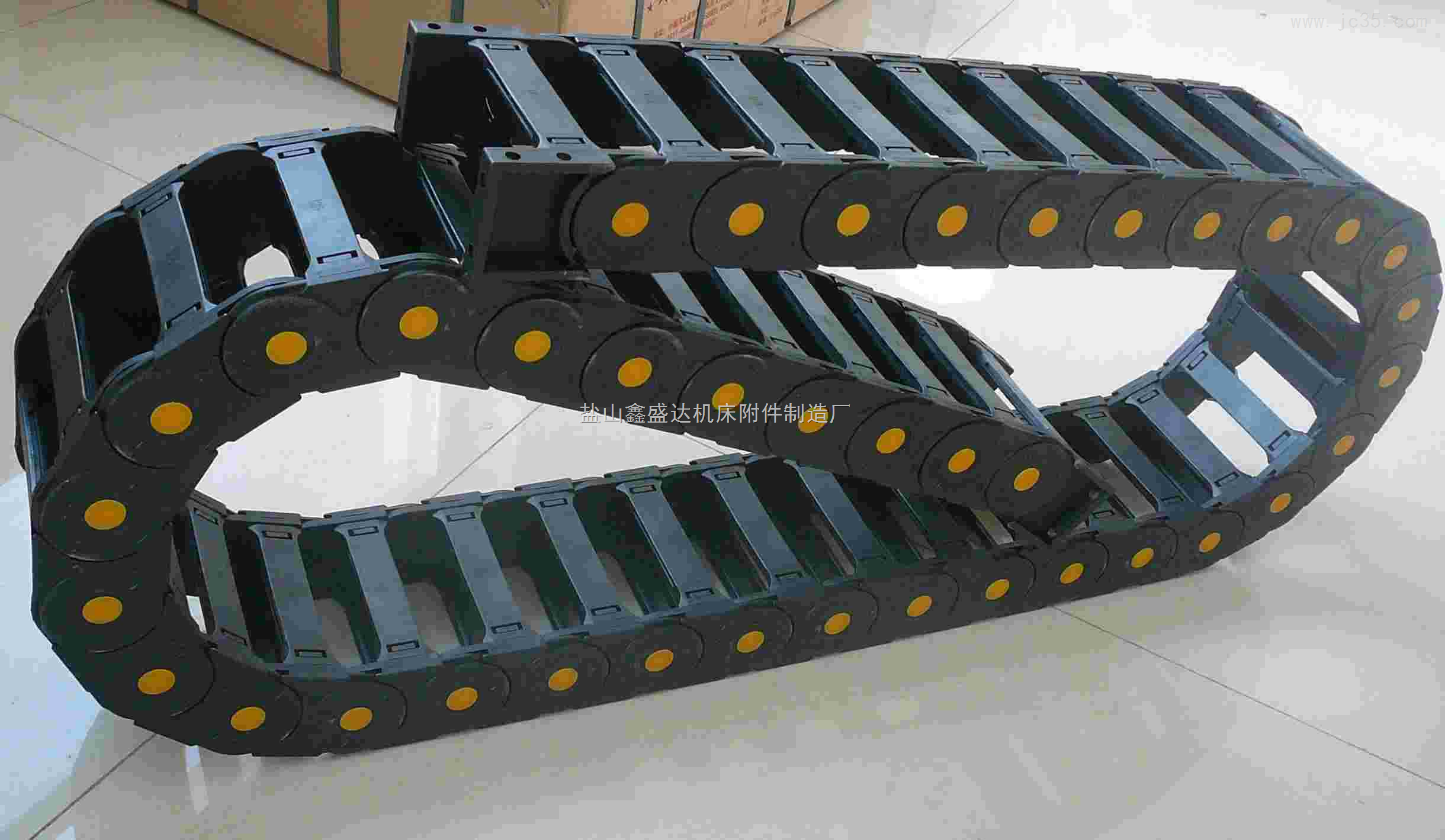 厂专业生产机床专用45*60全封闭尼龙拖链