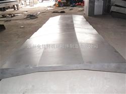 伸缩式钢板防护罩【月产量上万套,专业钢板护罩厂家】