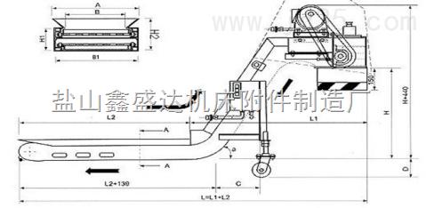 按图定做各种链板式机床专用排屑机