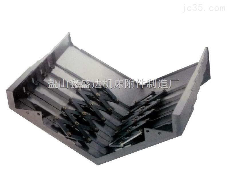 无锡机床机械专用伸缩式钢板防护罩
