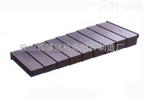 厂专业生产机床专伸缩导轨钢板防护罩