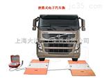 SCS-XC-D美80吨便携式地磅价格,澳大利亚100吨便携式汽车衡,菲律宾150吨便携式汽车称重仪