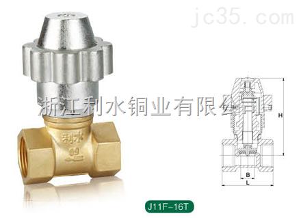 磁性锁闭调节阀J11F-16T