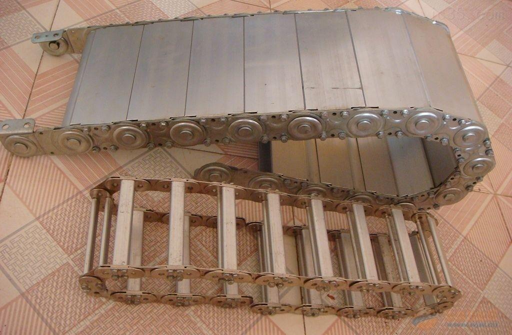 全封闭式数控机床钢铝拖链