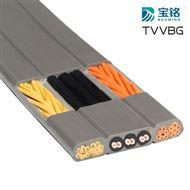 宝铭TVVBG电梯电缆/带钢丝扁形电梯电缆