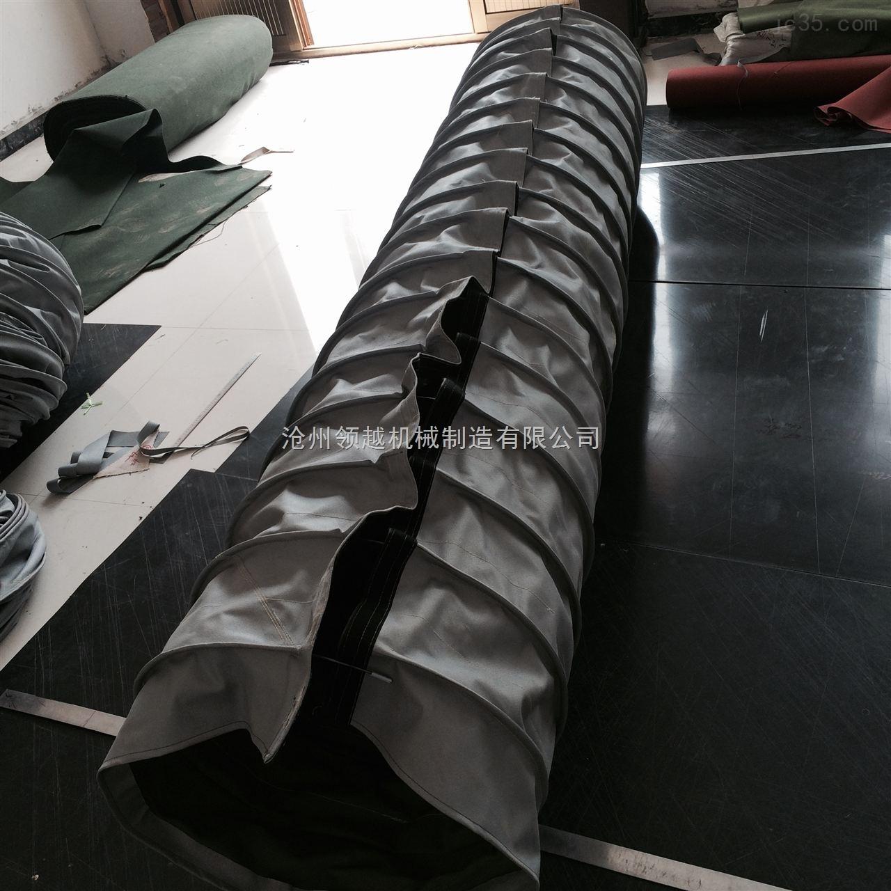 拉链粘扣式耐高温伸缩油缸防护罩