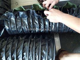 密封式耐磨损防尘帆布输送软连接