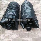 高温防尘机械设备耐酸碱帆布软连接