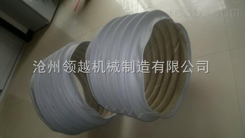 钢厂耐高温伸缩软连接阻燃软管