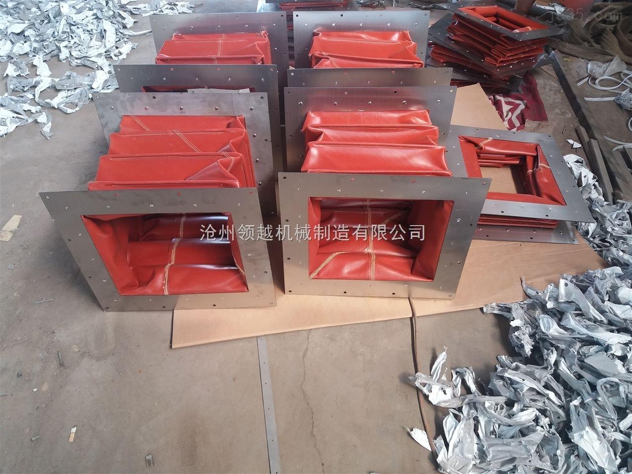 包装设备方形通风软连接厂家