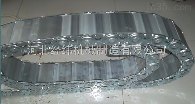 石材机械专用穿线油管钢制拖链