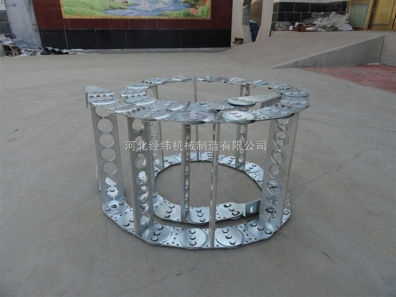 翻转机械钢铝耐磨拖链