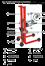 【供应】电子倒桶秤油库搬运油桶FCS-150kg手动倒桶秤