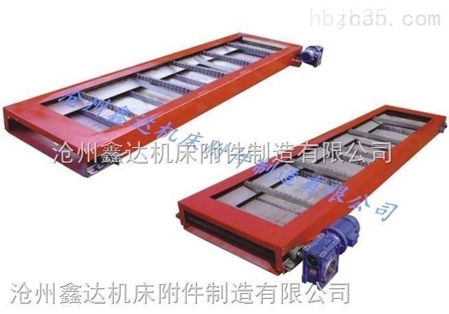 广泛使用的刮板式排屑机