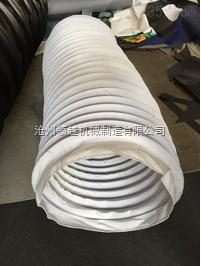 包装设备耐高温通风伸缩软连接