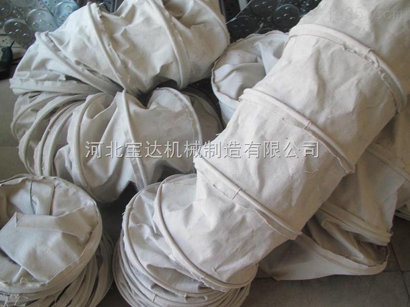 水泥罐车专用水泥帆布伸缩布袋供应