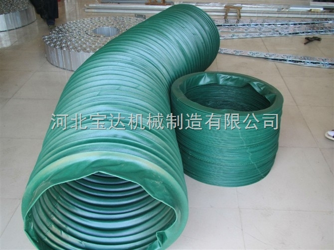 环保型除尘耐磨挂胶帆布通伸缩软连接