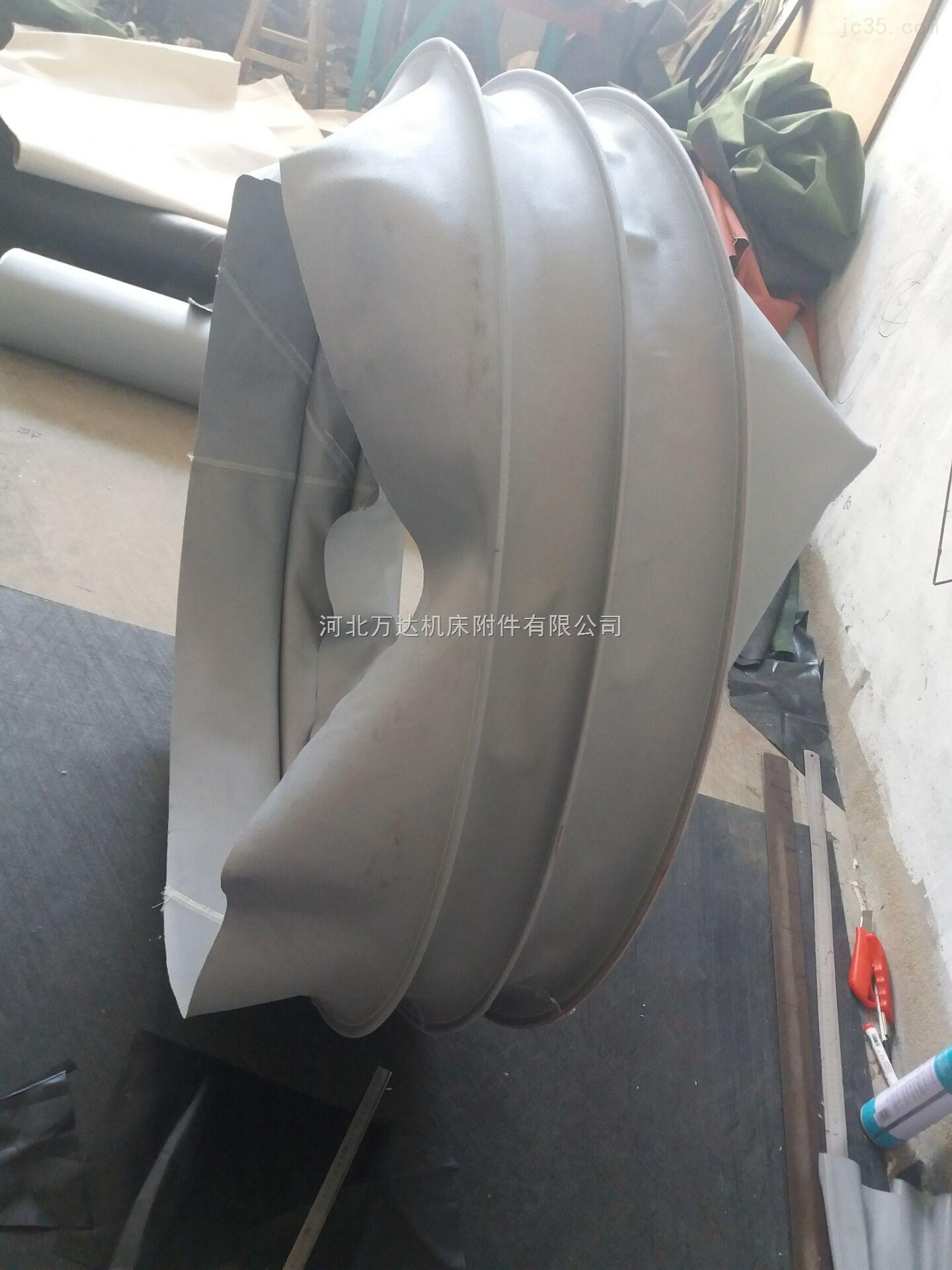 专业出品矩形防火耐高温三防布伸缩软连接