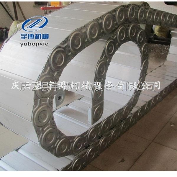 衢州机床线缆保护拖链  铜陵工程钢制拖链 尼龙拖链