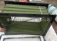郑州方形通风耐磨帆布伸缩软连接用途