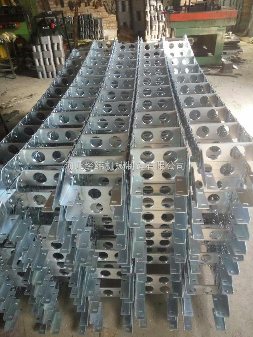 钻机专用油管钢制拖链 油管钢制拖链厂家热销