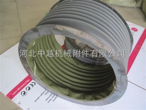 风机排风口帆布防尘软连接