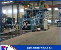 郑州抛丸机开泰抛丸机厂价直销铸造用钢板抛丸机