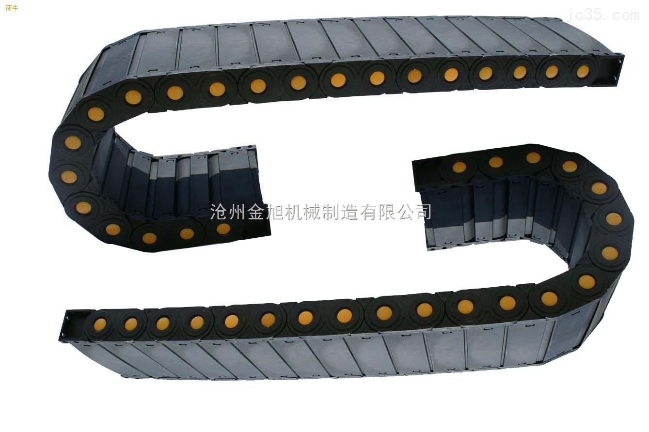 深圳80*125塑料电缆拖链