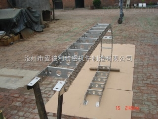 加工中心不锈钢制拖链