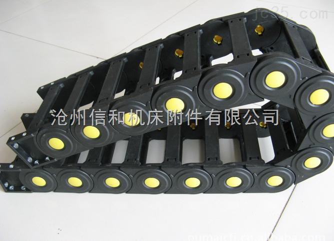 高弹性单元链穿线塑料拖链