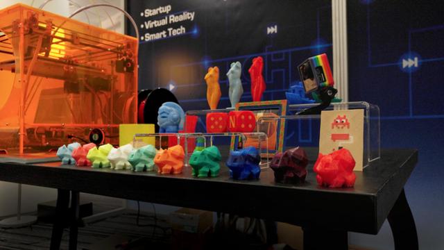 首台全彩色3D打印机亮相 红蓝黄混合打印出任何色