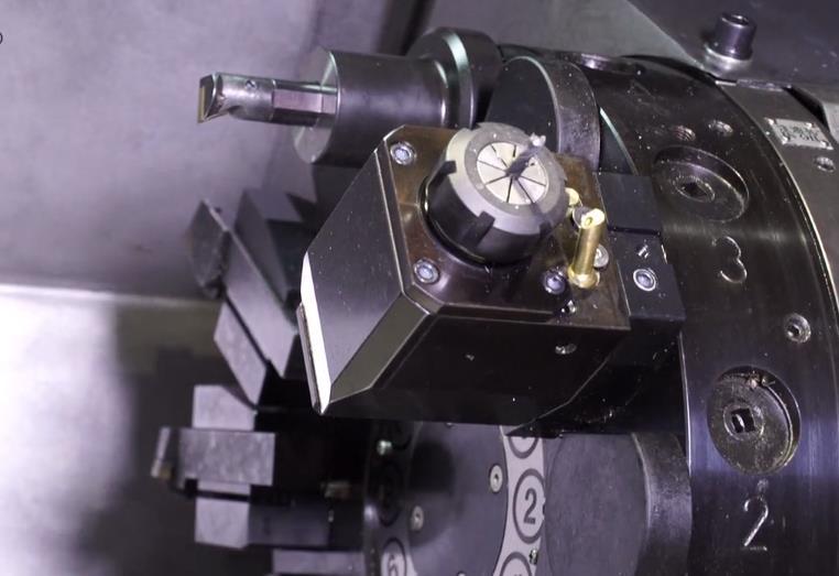 震环机床动力刀塔机床加工产品过程赏析