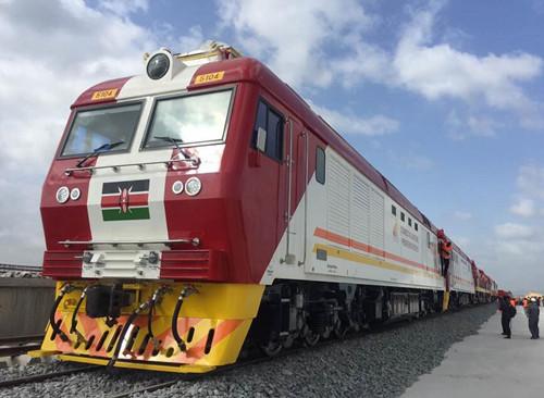 中国铁路车���d_中国中车铁路货车出口肯尼亚 蒙内铁路见证中国制造精神
